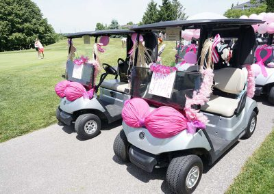 """St Andrews Valley 9th Pink Ribbon Tournament - """"Booby Trap"""" Cart"""