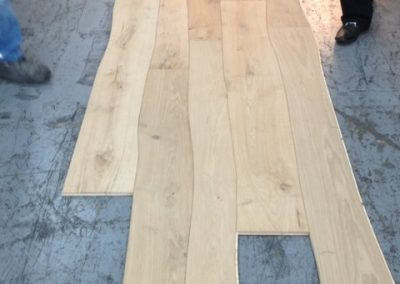 Laying a cool wavy floor - Floors Direct North