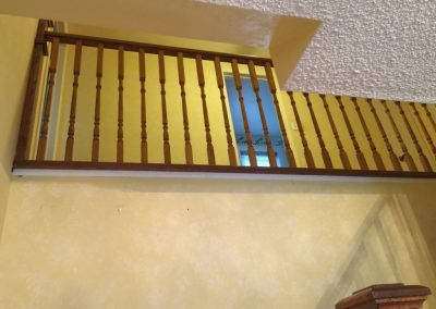 Custom stair and picket work by Floors Direct North