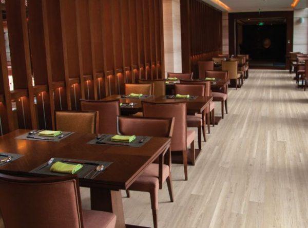 COREtec Galaxy Luxury Vinyl - Sunflower Pine (room) @ Floors Direct North